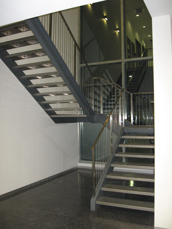 Stairs at Commonwealth Bank Norwest